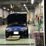 エンジンオイル交換作業(BMW 118i)