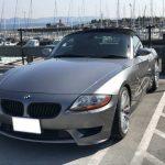 江の島の駐車場にて撮影 BMW Z4