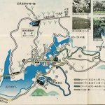 佐久間ダム湖周辺地図(駐車場、トイレ)