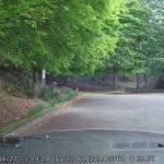 駐車中録画のドラレコ映像
