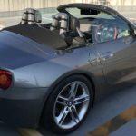 BMW Z4 E85用 ウインドディフレクター