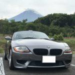 富士山とBMW Z4