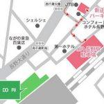 JR長野駅の駐車場