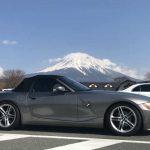BMW Z4 3.0と富士山